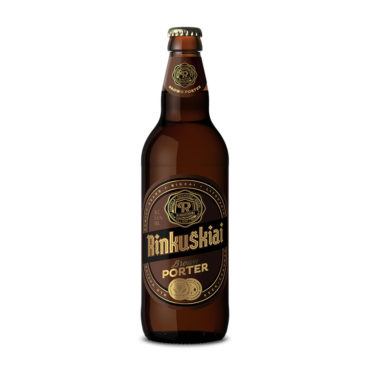 Rinkuškiai Brown Porter beer