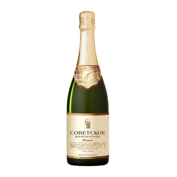 Sovetskoe Premium Sparkling Wine Semi Sweet